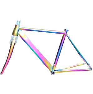 titanium road bike frames taper head tube